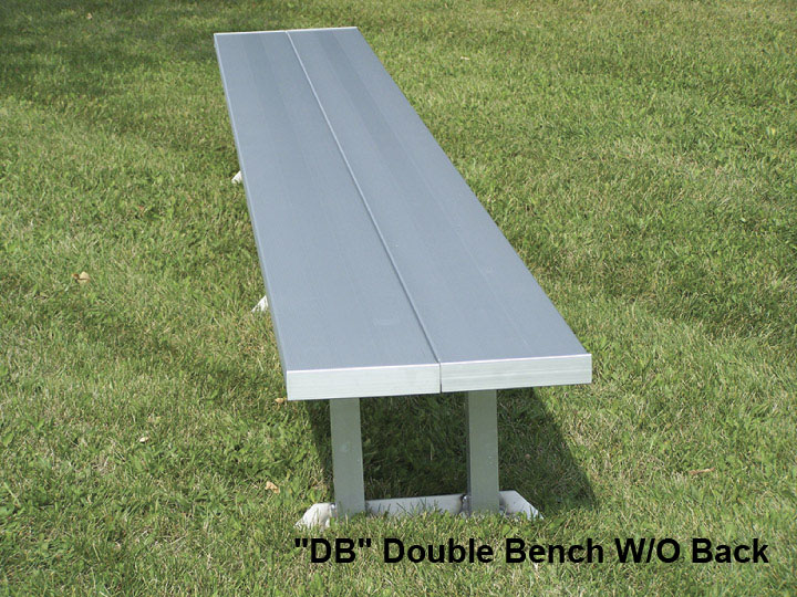 Benches with Aluminum Legs - National Recreation Systems