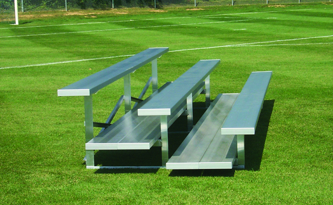 bleacher seating