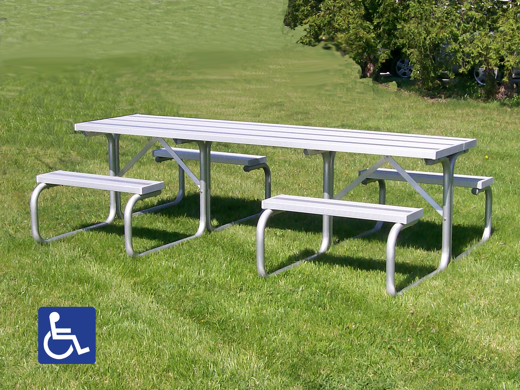Aluminum Picnic Tables Metal Park Tables National Recreation Systems