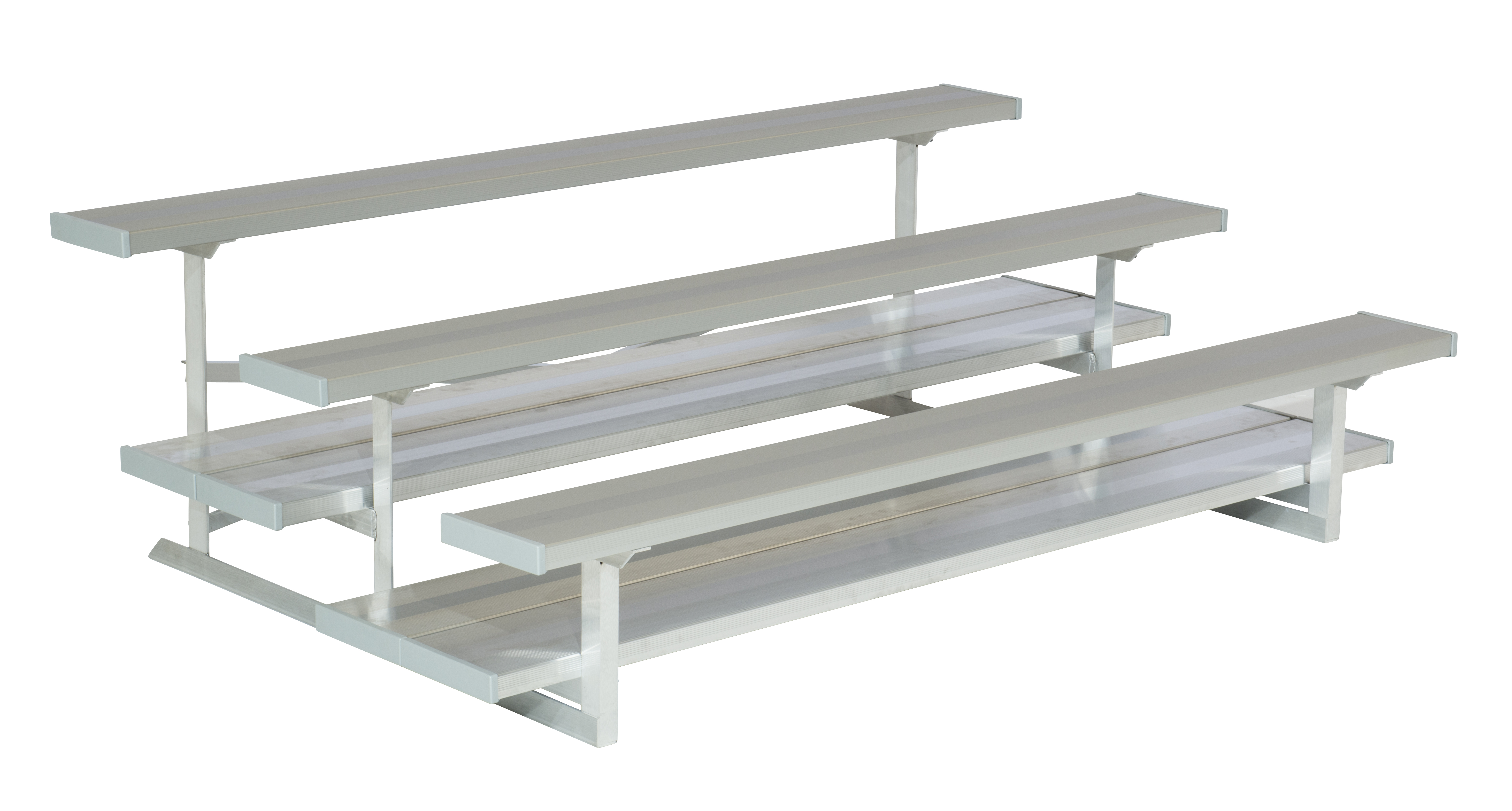 3 row aluminum bleachers