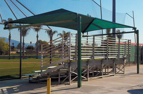 the latest 84c33 efd15 Bleachers & Stadiums Shade Canopies & Structures - NRS ...