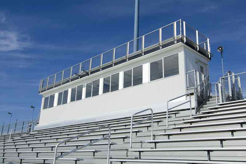 Press Boxes For Stadiums Customized National