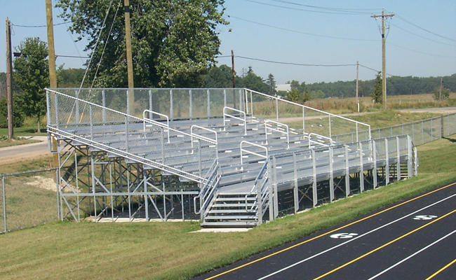 Football Amp Baseball Bleachers Elevated Bleachers By