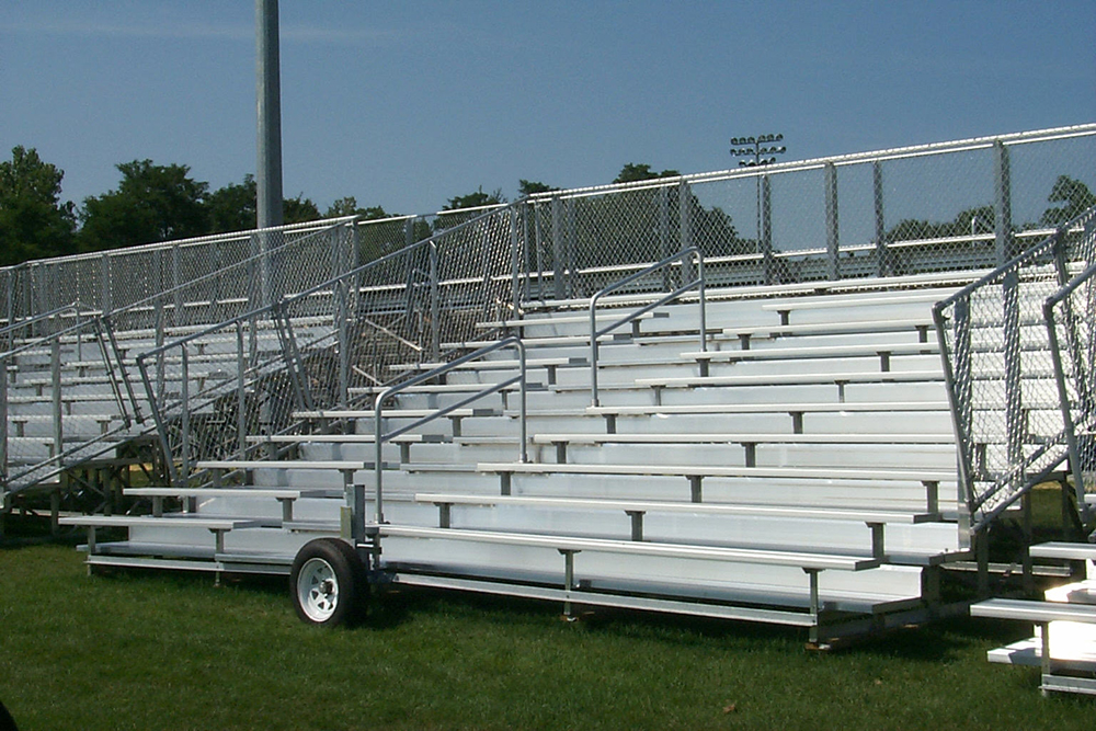 transportable bleacher